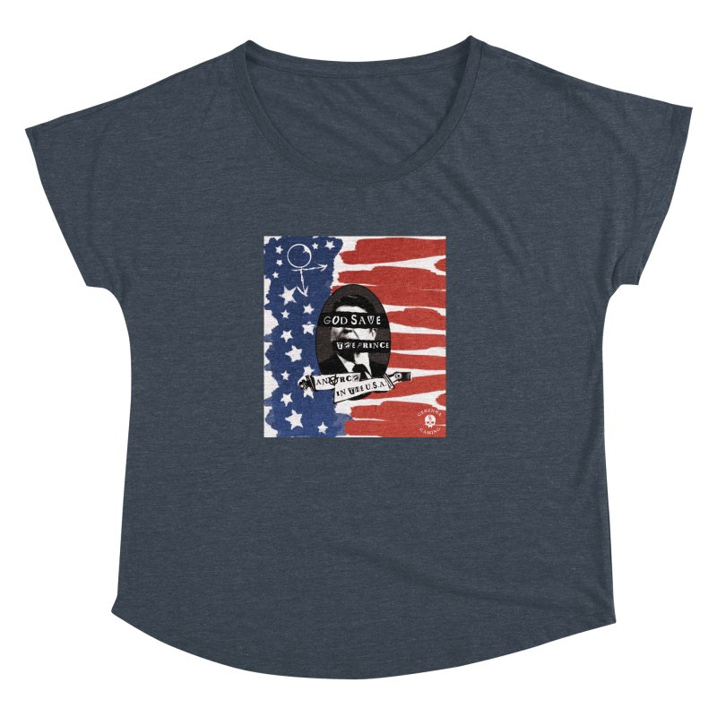 Anarch in the U.S.A. Women's Dolman Scoop Neck by The Gehenna Gaming Shop