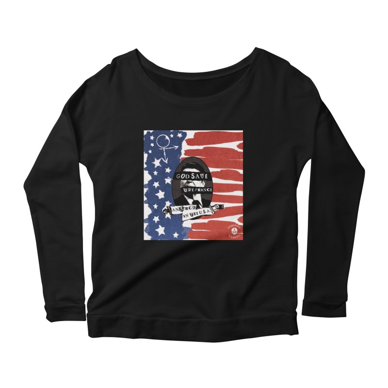 Anarch in the U.S.A. Women's Scoop Neck Longsleeve T-Shirt by The Gehenna Gaming Shop