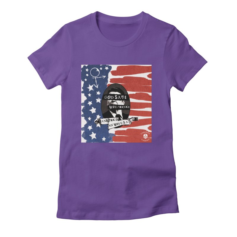 Anarch in the U.S.A. Women's Fitted T-Shirt by The Gehenna Gaming Shop
