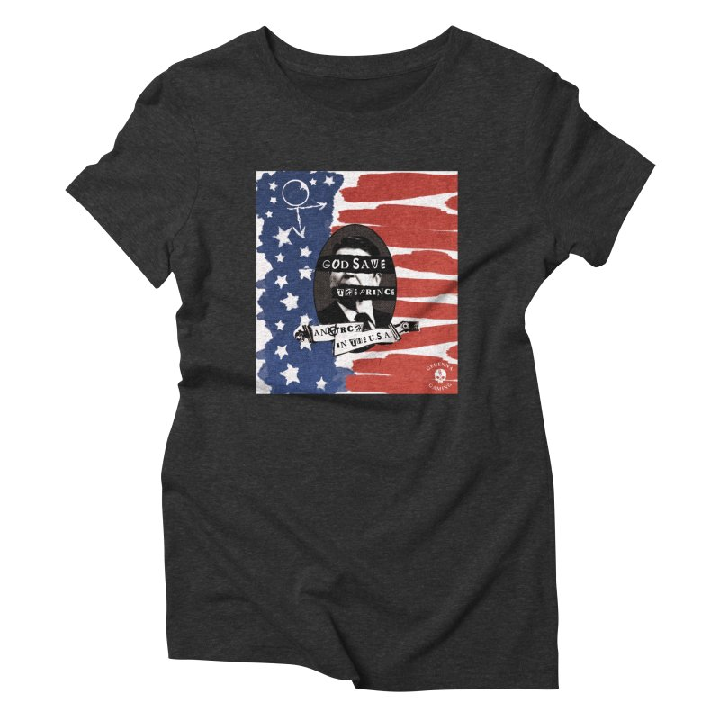 Anarch in the U.S.A. Women's Triblend T-Shirt by GehennaGaming's Artist Shop