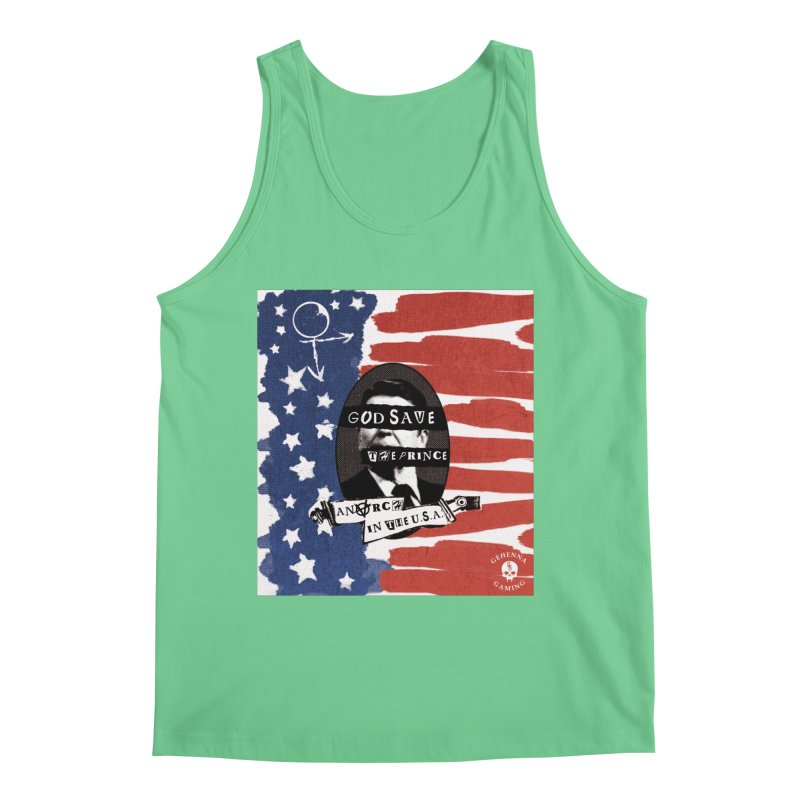 Anarch in the U.S.A. Men's Regular Tank by GehennaGaming's Artist Shop