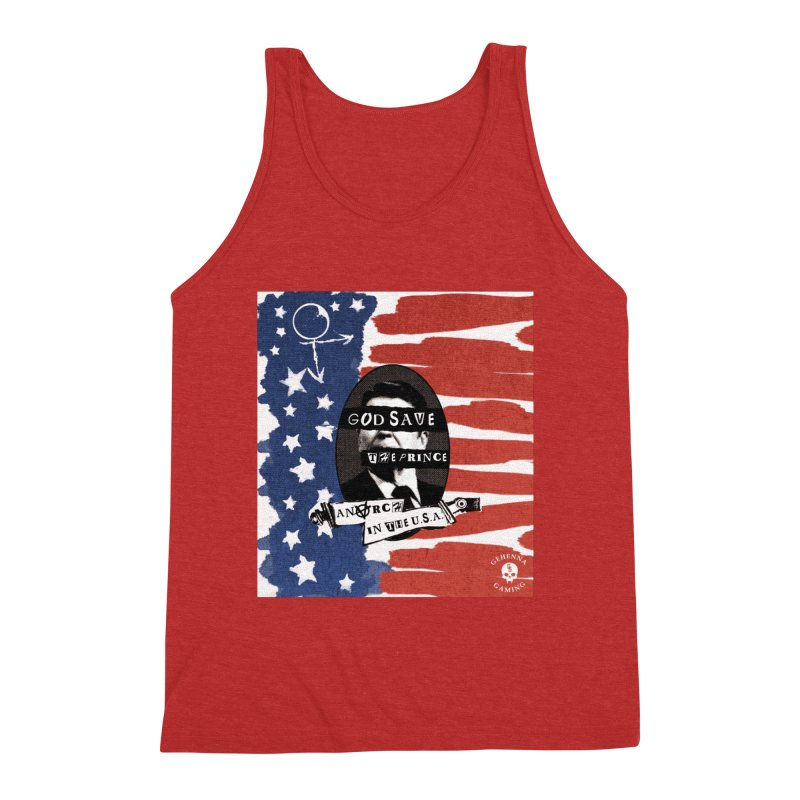 Anarch in the U.S.A. Men's Triblend Tank by GehennaGaming's Artist Shop