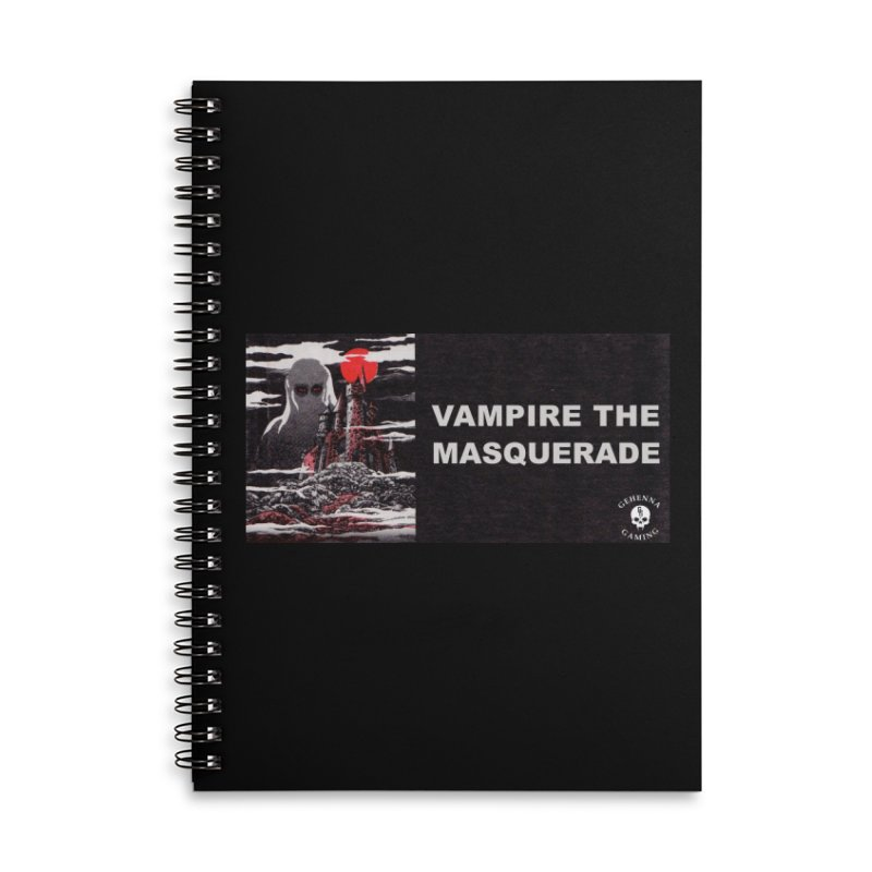 Religious Propaganda: Vampire the Masquerade (parody) Accessories Lined Spiral Notebook by GehennaGaming's Artist Shop