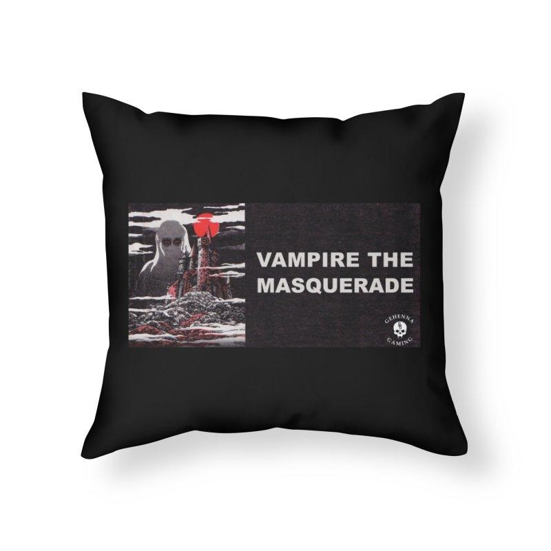 Religious Propaganda: Vampire the Masquerade (parody) Home Throw Pillow by GehennaGaming's Artist Shop