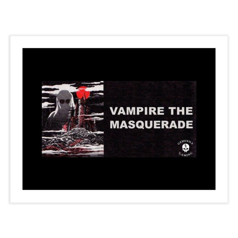 Religious Propaganda: Vampire the Masquerade (parody) Home Fine Art Print by GehennaGaming's Artist Shop