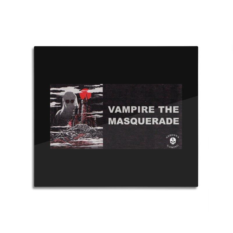 Religious Propaganda: Vampire the Masquerade (parody) Home Mounted Aluminum Print by GehennaGaming's Artist Shop