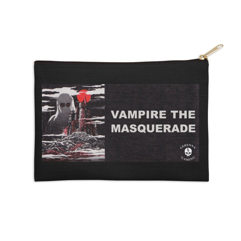 Religious Propaganda: Vampire the Masquerade (parody) Accessories Zip Pouch by GehennaGaming's Artist Shop