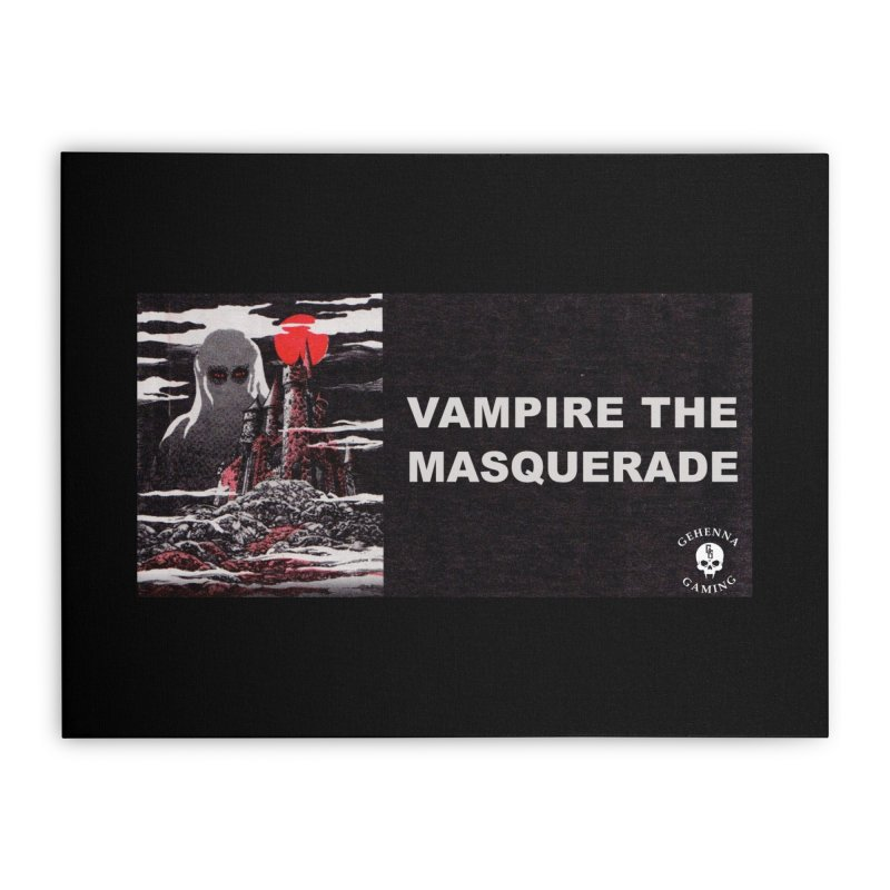 Religious Propaganda: Vampire the Masquerade (parody) Home Stretched Canvas by GehennaGaming's Artist Shop