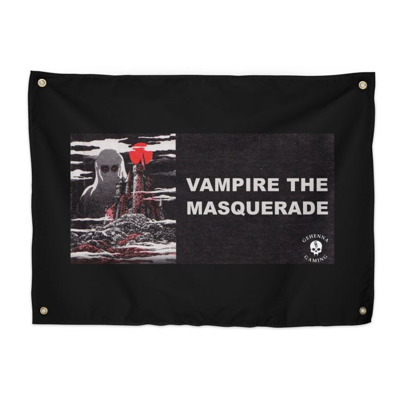 Religious Propaganda: Vampire the Masquerade (parody) Home Tapestry by GehennaGaming's Artist Shop