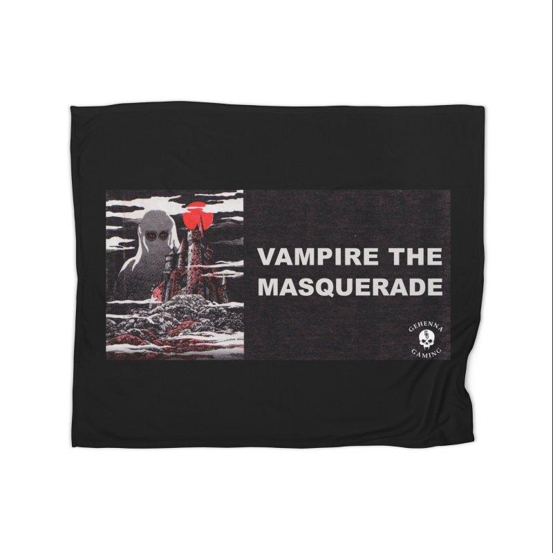 Religious Propaganda: Vampire the Masquerade (parody) Home Fleece Blanket Blanket by GehennaGaming's Artist Shop