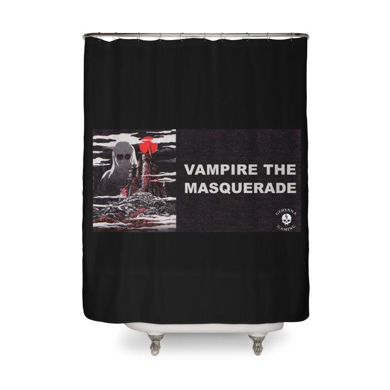 Religious Propaganda: Vampire the Masquerade (parody) Home Shower Curtain by GehennaGaming's Artist Shop