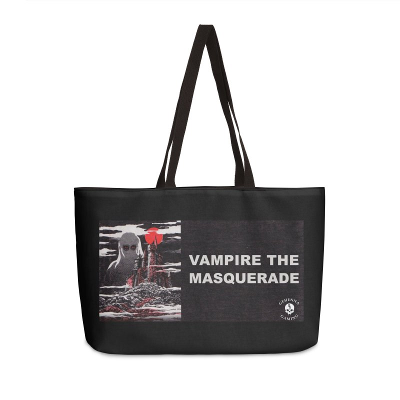 Religious Propaganda: Vampire the Masquerade (parody) Accessories Weekender Bag Bag by GehennaGaming's Artist Shop