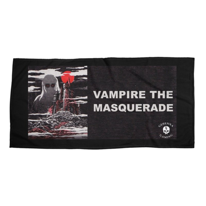 Religious Propaganda: Vampire the Masquerade (parody) Accessories Beach Towel by GehennaGaming's Artist Shop