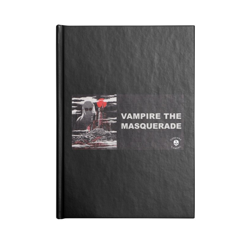 Religious Propaganda: Vampire the Masquerade (parody) Accessories Blank Journal Notebook by GehennaGaming's Artist Shop