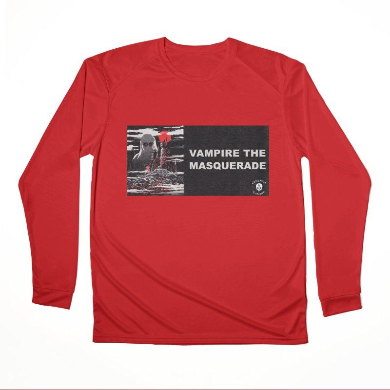 Religious Propaganda: Vampire the Masquerade (parody) Women's Performance Unisex Longsleeve T-Shirt by GehennaGaming's Artist Shop