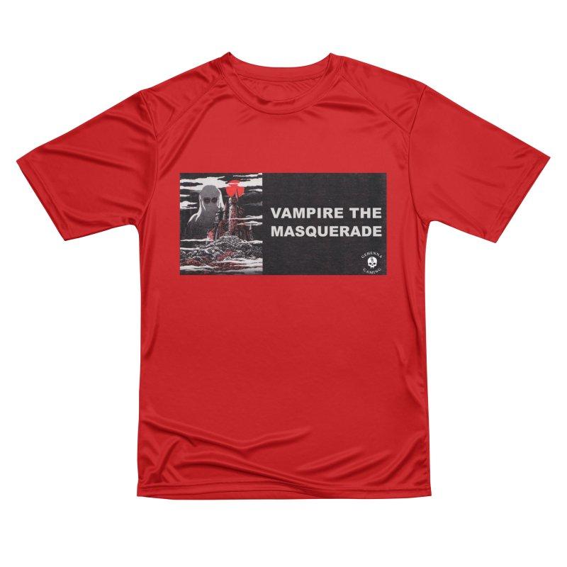 Religious Propaganda: Vampire the Masquerade (parody) Men's Performance T-Shirt by GehennaGaming's Artist Shop