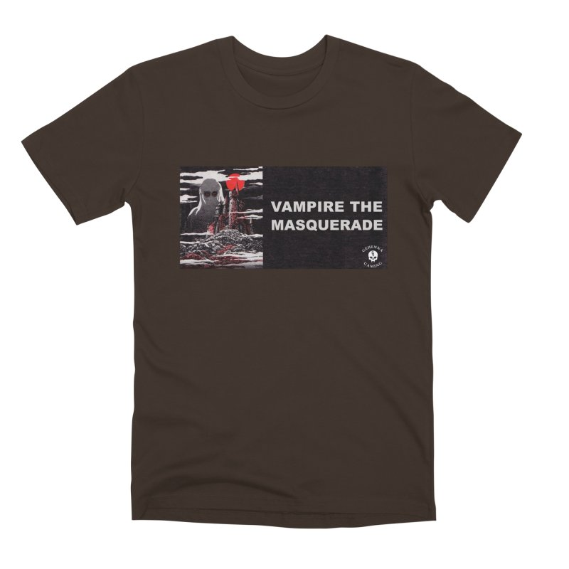 Religious Propaganda: Vampire the Masquerade (parody) Men's Premium T-Shirt by GehennaGaming's Artist Shop