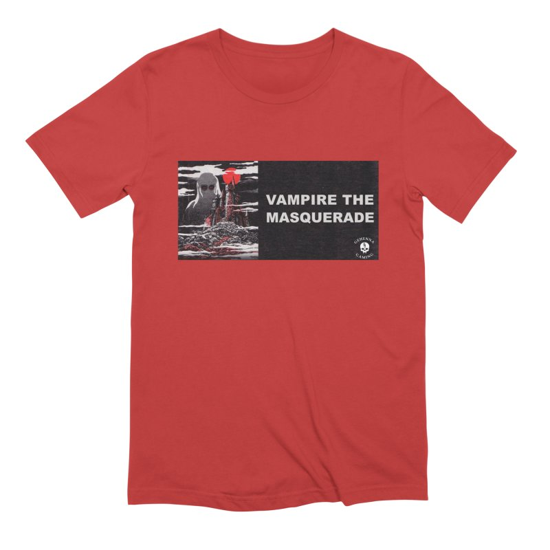 Religious Propaganda: Vampire the Masquerade (parody) Men's Extra Soft T-Shirt by GehennaGaming's Artist Shop