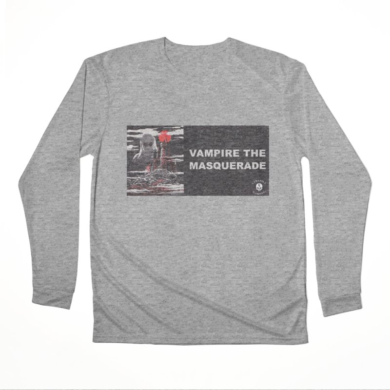 Religious Propaganda: Vampire the Masquerade (parody) Men's Performance Longsleeve T-Shirt by GehennaGaming's Artist Shop