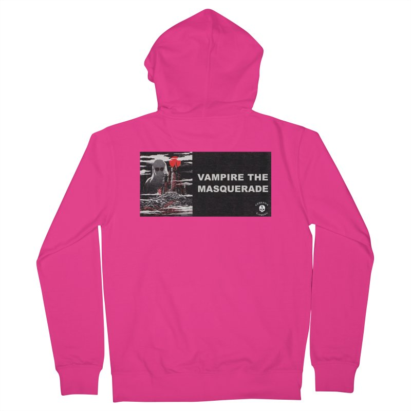 Religious Propaganda: Vampire the Masquerade (parody) Men's French Terry Zip-Up Hoody by GehennaGaming's Artist Shop