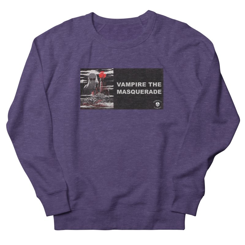 Religious Propaganda: Vampire the Masquerade (parody) Women's French Terry Sweatshirt by GehennaGaming's Artist Shop