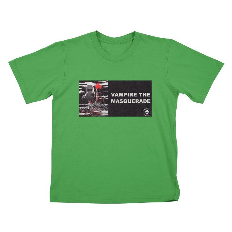 Religious Propaganda: Vampire the Masquerade (parody) Kids T-Shirt by GehennaGaming's Artist Shop