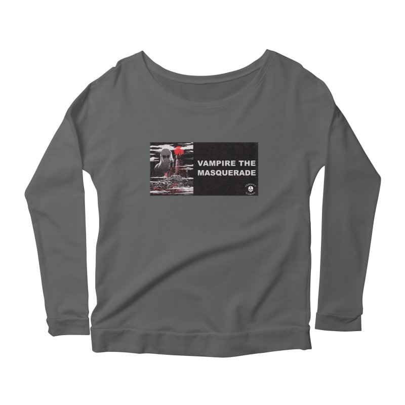 Religious Propaganda: Vampire the Masquerade (parody) Women's Scoop Neck Longsleeve T-Shirt by GehennaGaming's Artist Shop