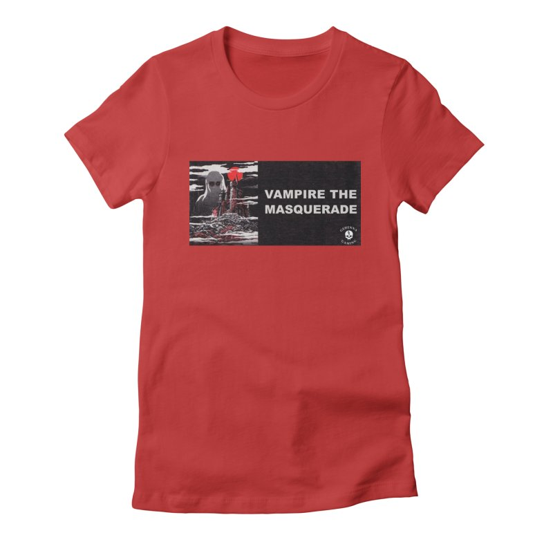 Religious Propaganda: Vampire the Masquerade (parody) Women's Fitted T-Shirt by GehennaGaming's Artist Shop