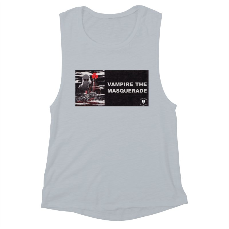 Religious Propaganda: Vampire the Masquerade (parody) Women's Muscle Tank by GehennaGaming's Artist Shop