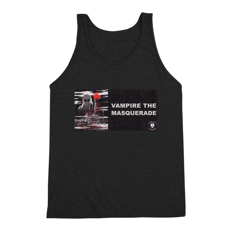 Religious Propaganda: Vampire the Masquerade (parody) Men's Triblend Tank by GehennaGaming's Artist Shop