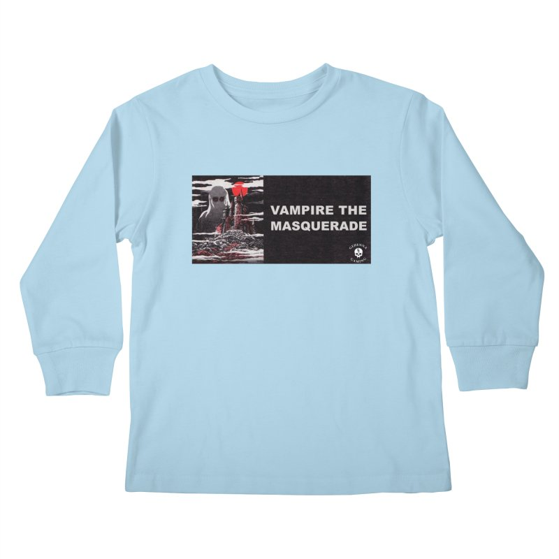 Religious Propaganda: Vampire the Masquerade (parody) Kids Longsleeve T-Shirt by GehennaGaming's Artist Shop