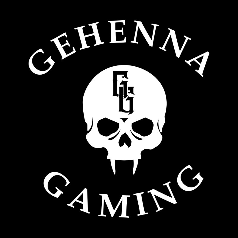 Gehenna Gaming (Goth Version) Kids T-Shirt by The Gehenna Gaming Shop