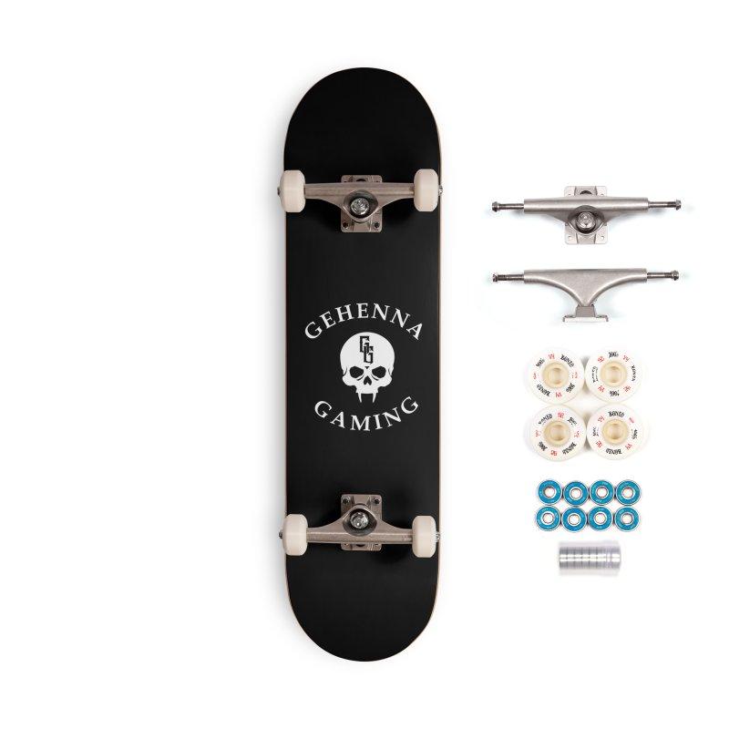 Gehenna Gaming (Goth Version) Accessories Complete - Premium Skateboard by GehennaGaming's Artist Shop