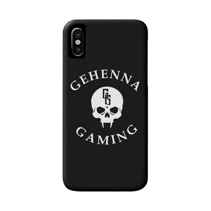 Gehenna Gaming (Goth Version) Accessories Phone Case by GehennaGaming's Artist Shop