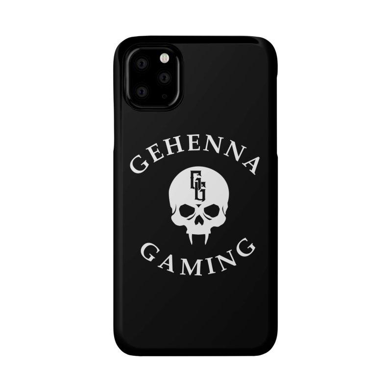 Gehenna Gaming (Goth Version) Accessories Phone Case by GehennaGaming's Artist Shop