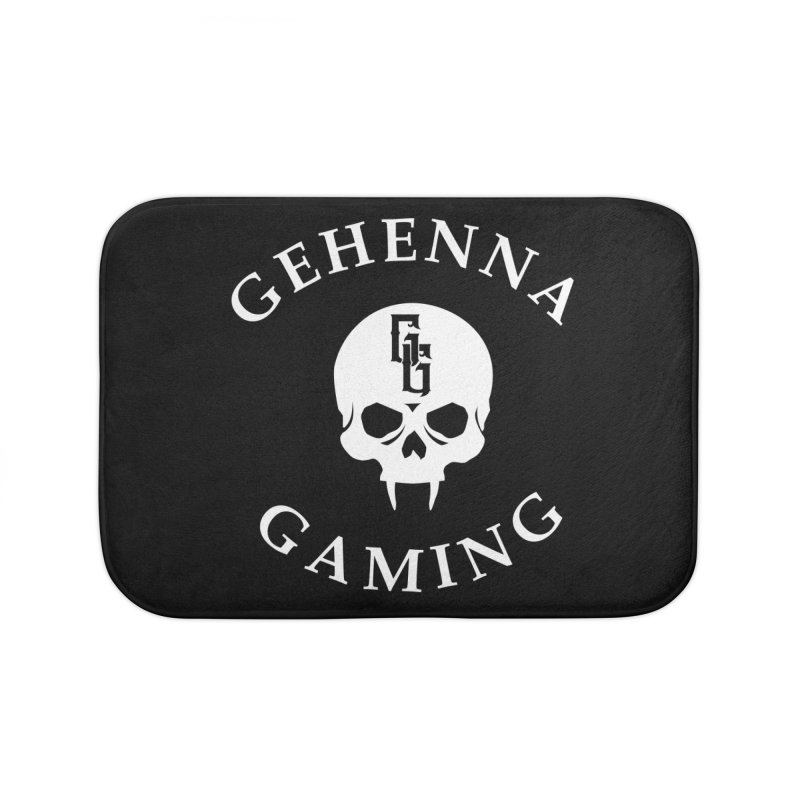Gehenna Gaming (Goth Version) Home Bath Mat by GehennaGaming's Artist Shop