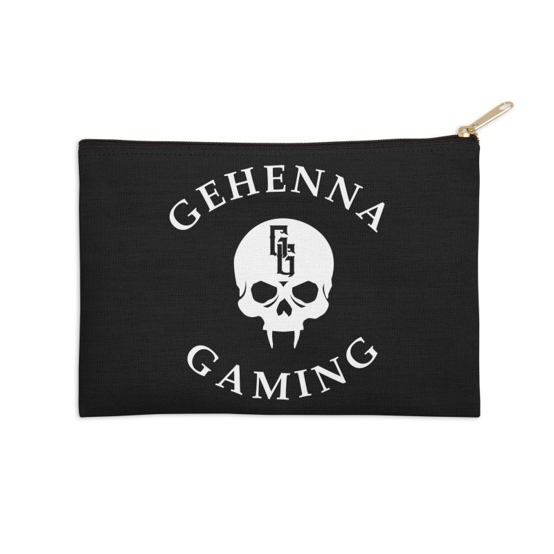 Gehenna Gaming (Goth Version) Accessories Zip Pouch by The Gehenna Gaming Shop