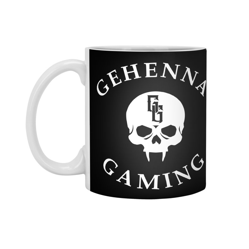 Gehenna Gaming (Goth Version) Accessories Standard Mug by GehennaGaming's Artist Shop