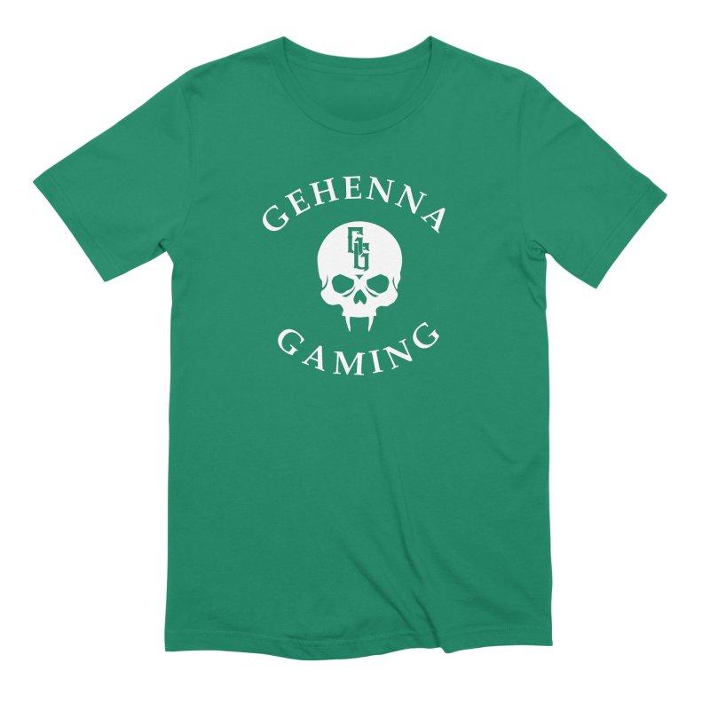Gehenna Gaming (Goth Version) Men's Extra Soft T-Shirt by GehennaGaming's Artist Shop