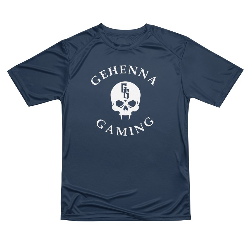 Gehenna Gaming (Goth Version) Men's Performance T-Shirt by The Gehenna Gaming Shop
