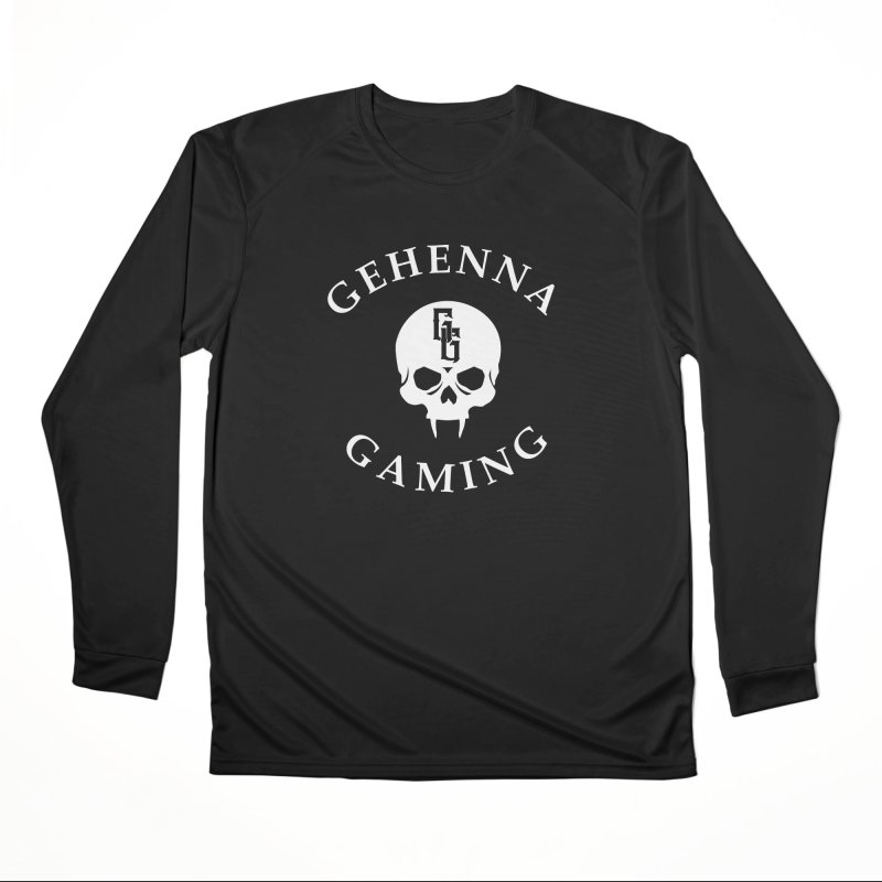 Gehenna Gaming (Goth Version) Women's Performance Unisex Longsleeve T-Shirt by GehennaGaming's Artist Shop