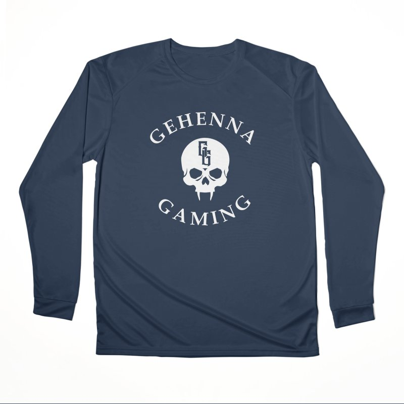 Gehenna Gaming (Goth Version) Men's Performance Longsleeve T-Shirt by GehennaGaming's Artist Shop