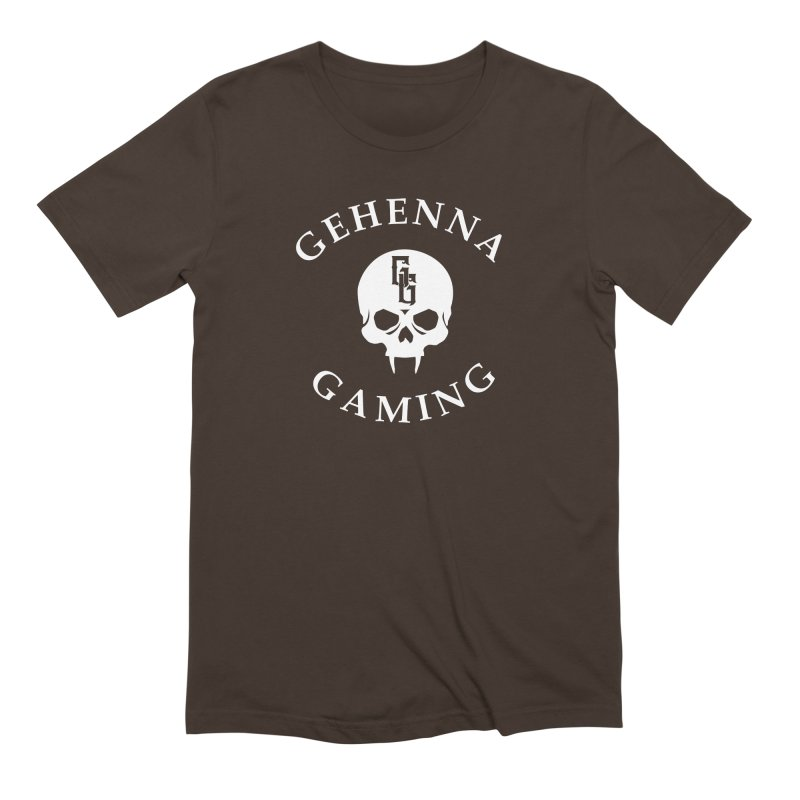 Gehenna Gaming (Goth Version) Men's Extra Soft T-Shirt by The Gehenna Gaming Shop