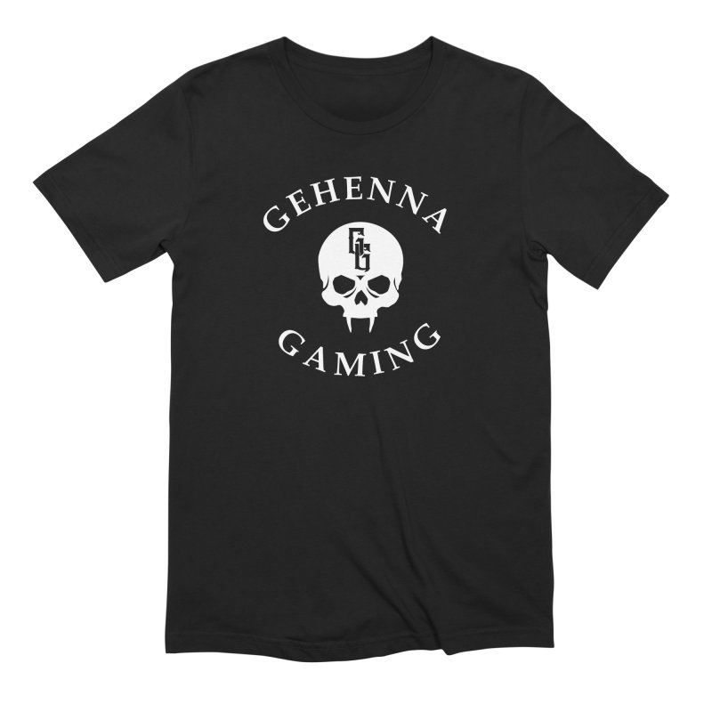 Gehenna Gaming (Goth Version) Men's Extra Soft T-Shirt by GehennaGaming's Artist Shop