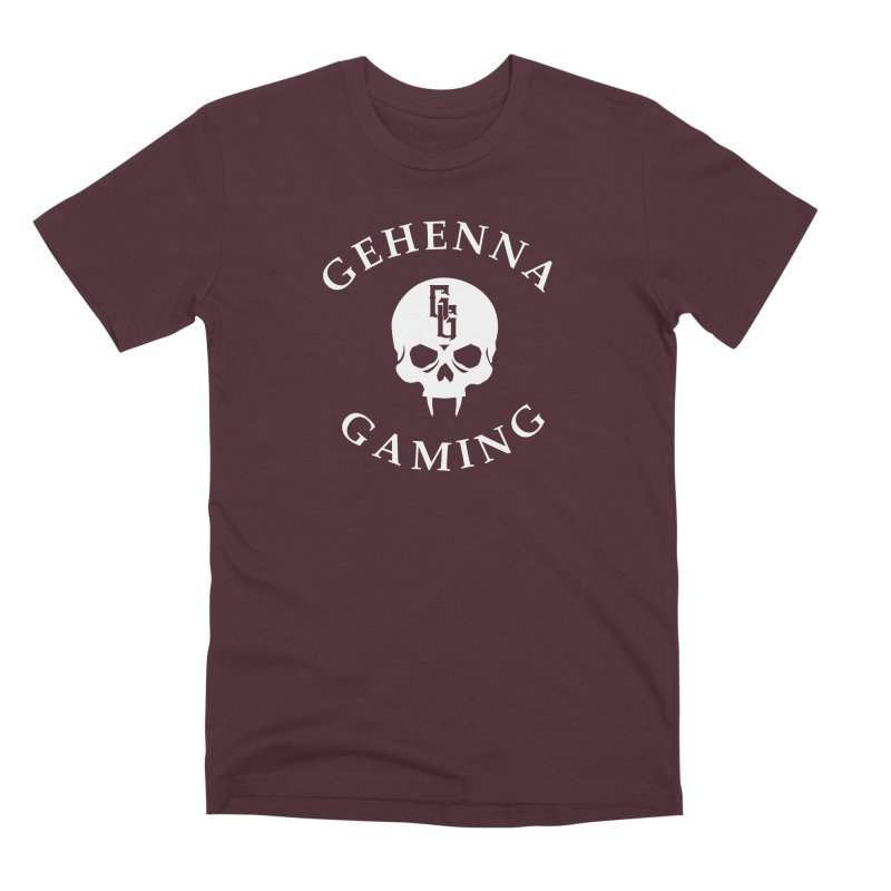 Gehenna Gaming (Goth Version) Men's Premium T-Shirt by The Gehenna Gaming Shop