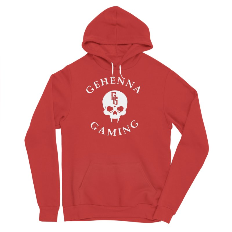 Gehenna Gaming (Goth Version) Men's Sponge Fleece Pullover Hoody by GehennaGaming's Artist Shop