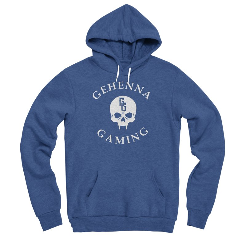 Gehenna Gaming (Goth Version) Men's Sponge Fleece Pullover Hoody by The Gehenna Gaming Shop
