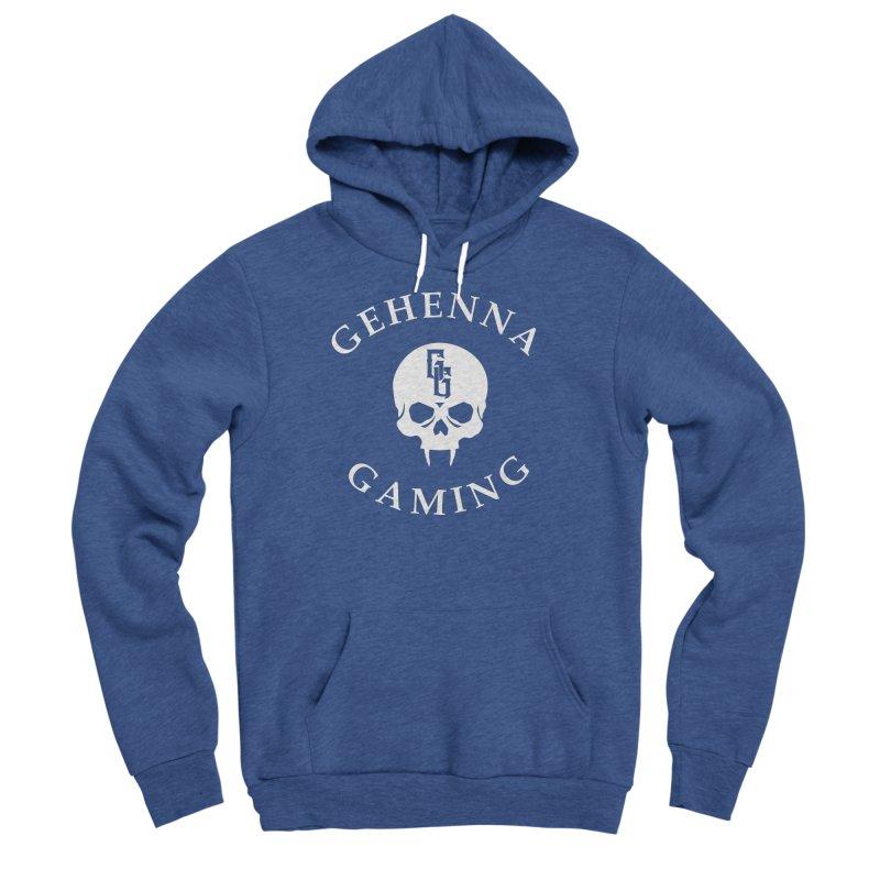 Gehenna Gaming (Goth Version) Men's Sponge Fleece Pullover Hoody by GehennaGaming's Artist Shop