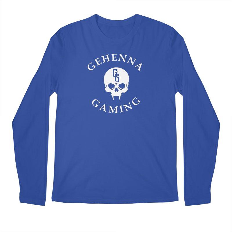 Gehenna Gaming (Goth Version) Men's Regular Longsleeve T-Shirt by GehennaGaming's Artist Shop