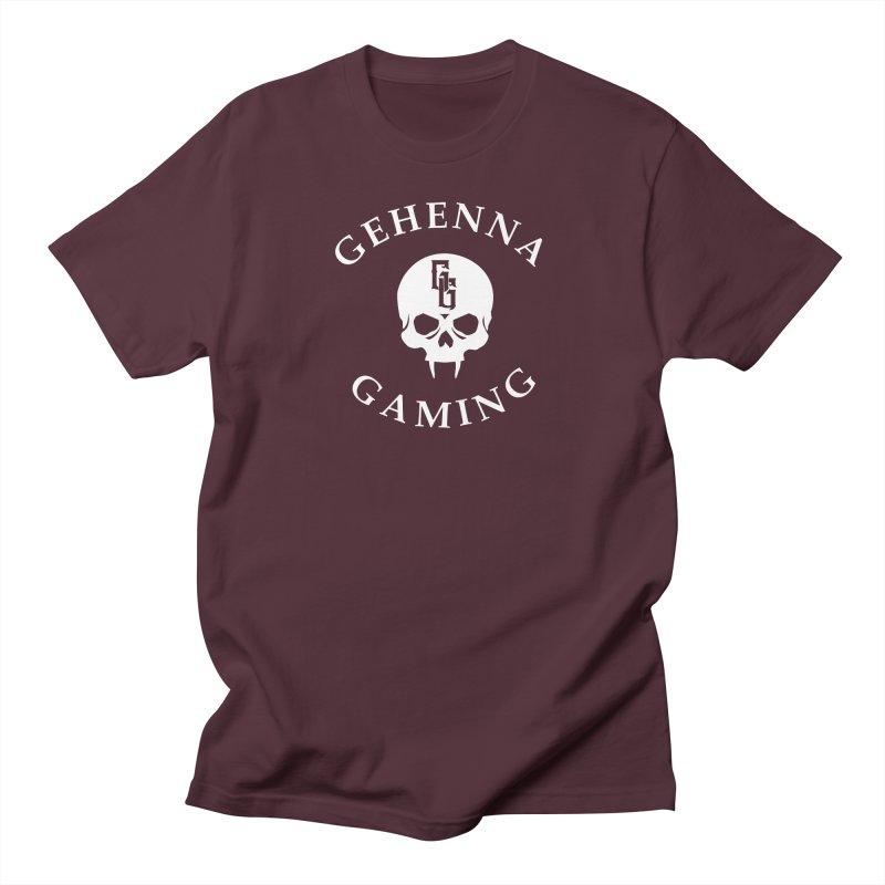 Gehenna Gaming (Goth Version) Men's Regular T-Shirt by The Gehenna Gaming Shop